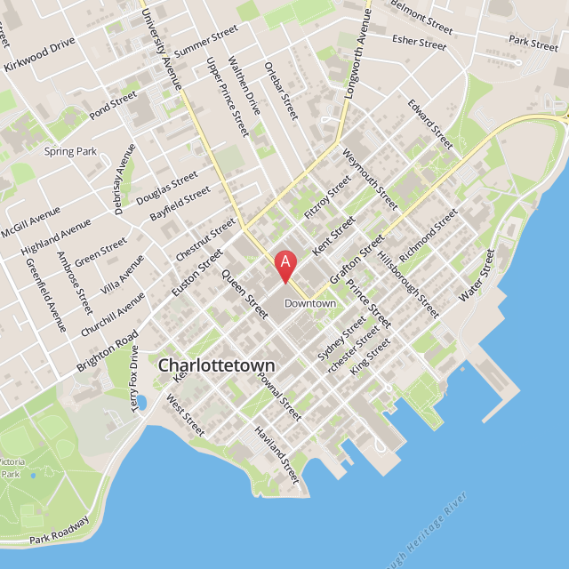 Location map for